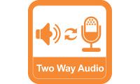 2 way audio یا صدای دوطرفه در دوربین مداربسته هایک ویژن