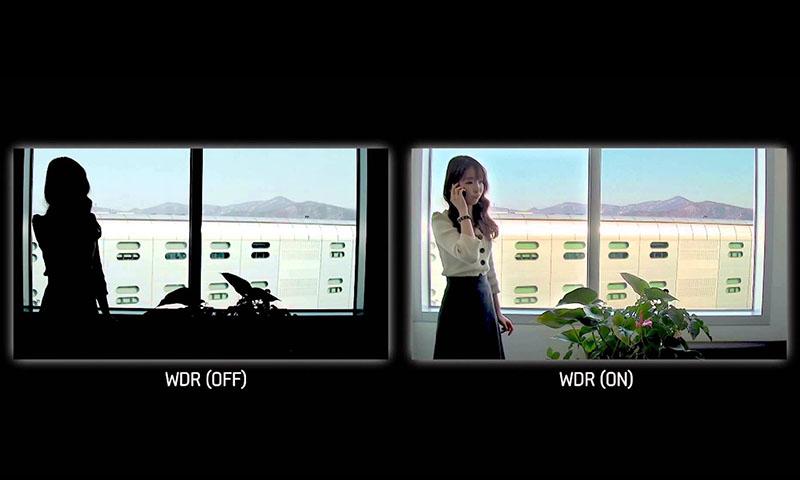 Dynamic Range در دوربین های مداربسته هایک ویژن