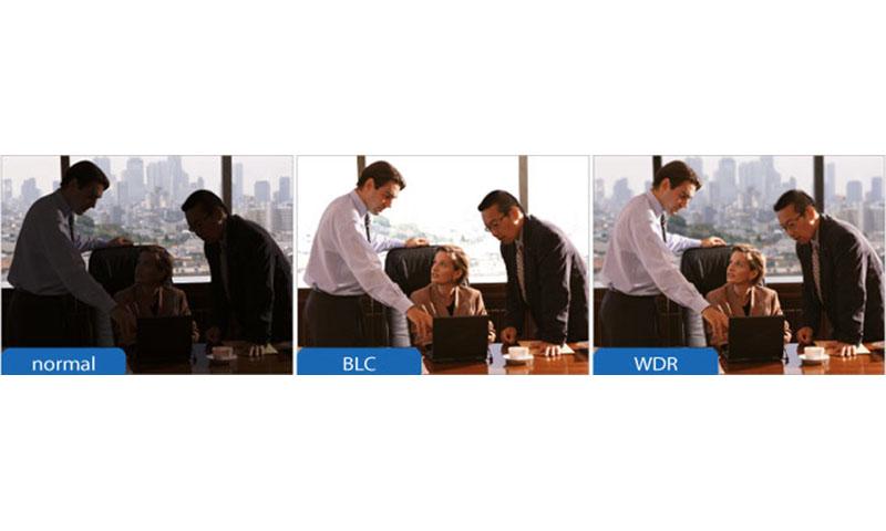 BLC در دوربین مداربسته هایک ویژن