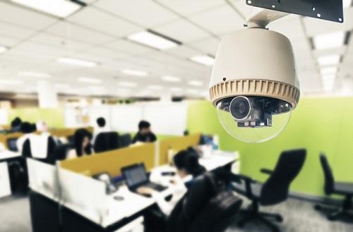 نصب دوربین مداربسته هایک ویژن در شرکت