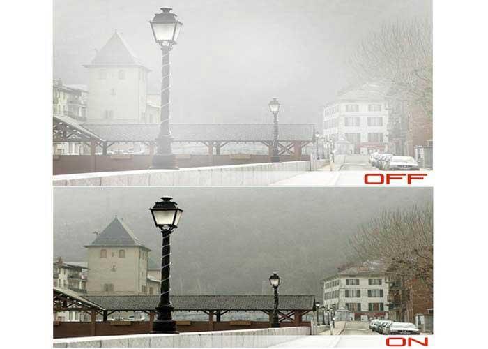 ویژگی ضد مه Defog در دوربین مداربسته چیست؟