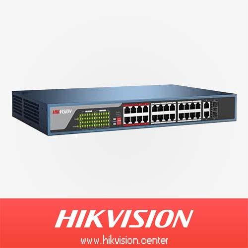 فروش سوئیچ شبکه DS-3E0318P-E هایک ویژن