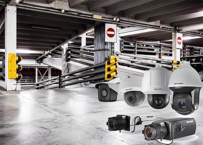 دوربین مداربسته هایک ویژن مناسب برای پارکینگ
