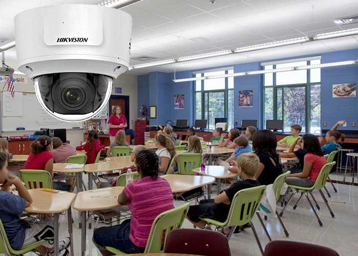 دوربین هایک ویژن از آتش سوزی در مدارس جلوگیری میکند