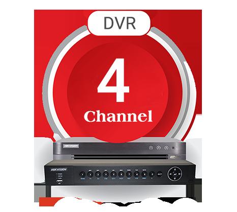 دی وی آر 4 کانال هایک ویژن