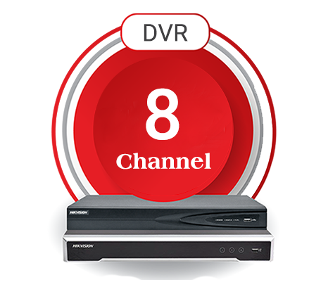ان وی آر 8 کانال هایک ویژن