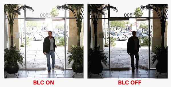 BLC در دوربین مداربسته