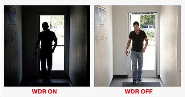WDR در دوربین مداربسته